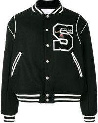 Stampd S college jacket - Noir