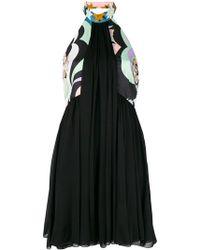 Emilio Pucci - Halterneck Pleated Dress - Lyst