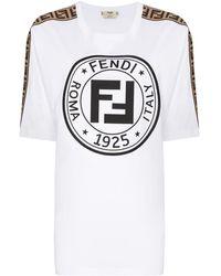 Fendi フェンディラマ Tシャツ - ホワイト