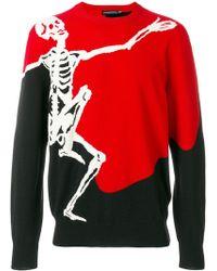 Alexander McQueen   Dancing Skeleton Sweater   Lyst