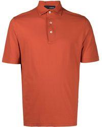 Lardini Рубашка Поло - Оранжевый