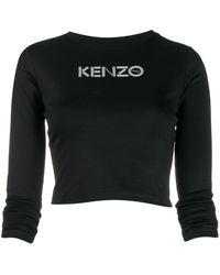 KENZO - ロゴ クロップドトップ - Lyst