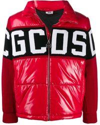 Gcds ロゴ ジャケット - レッド