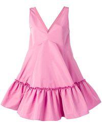 N°21 Vネックドレス - ピンク