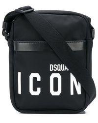 DSquared² Icon ショルダーバッグ - ブラック
