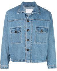 Second/Layer Indigo Denim Jacket - Blue