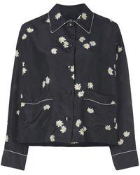 Marc Jacobs The Pajama Shirt - Black