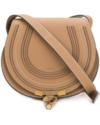 Chloé Marcie shoulder bag - Braun