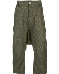 Mostly Heard Rarely Seen Pantalon à coupe sarouel Double Harem - Vert