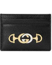 Gucci - グッチ ズゥミ カードケース - Lyst