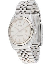 Rolex Reloj Oyster Perpetual Datejust de 35mm pre-owned - Metálico