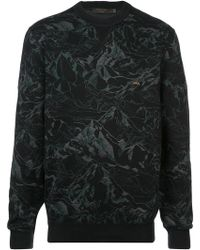 Ermenegildo Zegna - Mountain Print Sweatshirt - Lyst