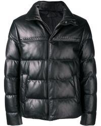 Bottega Veneta - Padded Short Jacket - Lyst