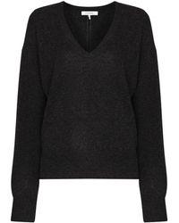 FRAME カシミア ロングtシャツ - グレー