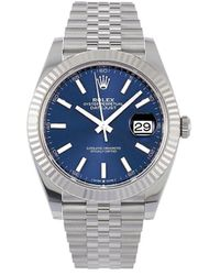 Rolex 2020 Unworn Oyster Perpetual Datejust 41mm - Blue
