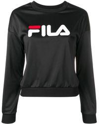 Fila Толстовка С Логотипом - Черный