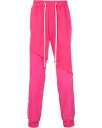 God's Masterful Children Terry Track Trousers - Pink