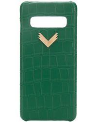 Manokhi Samsung S10-Hülle - Grün