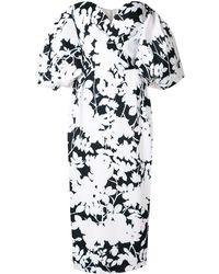 Rasario フローラル ドレス - ホワイト