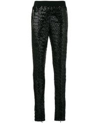 Amen - Sequined Slim Trousers - Lyst