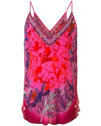 Camilla Tropic Of Neon Camisole Top - Pink