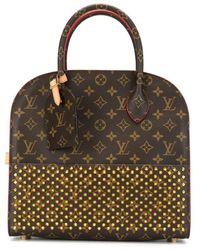 Louis Vuitton Sac porté épaule Iconoclasts - Marron