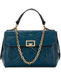 Givenchy Handtasche mit Anhänger - Blau