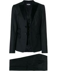 DSquared² Klassisches Kostüm - Schwarz