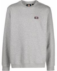Dickies Construct Sweatshirt mit Logo-Patch - Grau
