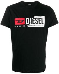DIESEL - T-diego-cuty Tシャツ - Lyst