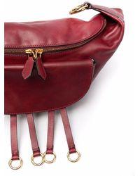 Alberta Ferretti Сумка На Плечо С Металлическим Декором - Красный