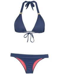 Brigitte Bardot Triangle Bikini Set - Green