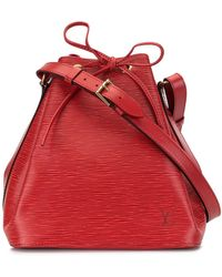 Louis Vuitton Bolso bombonera Petit Noe pre-owned 1995 - Rojo