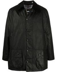 Barbour Beaufort ワックスジャケット - ブラック