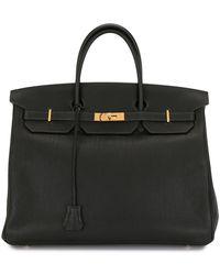 Hermès 2018 Pre-owned Birkin 40 Tote Bag - Black