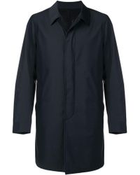 Dell'Oglio - Single Breasted Overcoat - Lyst