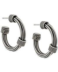 Gas Bijoux - Ariane Hoop Earrings - Lyst
