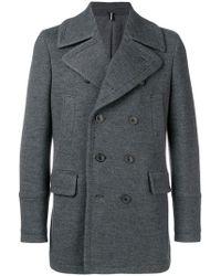Lardini Классическое Пальто - Серый
