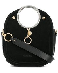 See By Chloé Mara Grained Leather Bag - Black