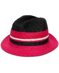 Lyst - Sombrero impermeable Prada de color Negro 032d84e62690