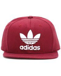 adidas - Logo Snapback Cap - Lyst
