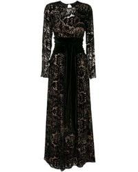 Olympiah Patrice イブニングドレス - ブラック