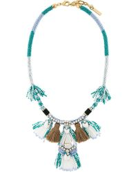 Rada' | Tassel Fringed Necklace | Lyst