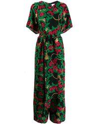 Hayley Menzies Jumpsuit Met Print - Zwart