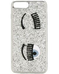 Chiara Ferragni Flirting Iphone X Hoesje - Metallic