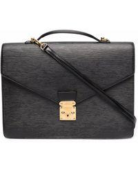 Louis Vuitton プレオウンド エピ ビジネスバッグ - ブラック