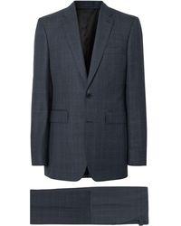 Burberry チェック スーツ - マルチカラー