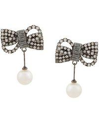 Jennifer Behr - Pearl Drop Earrings - Lyst