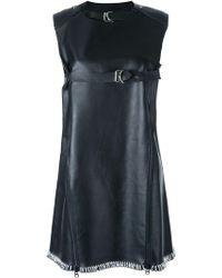 KTZ - Leather Swing Dress - Lyst