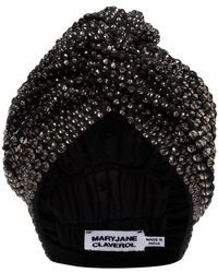 MaryJane Claverol 'Jones' Turban - Grau